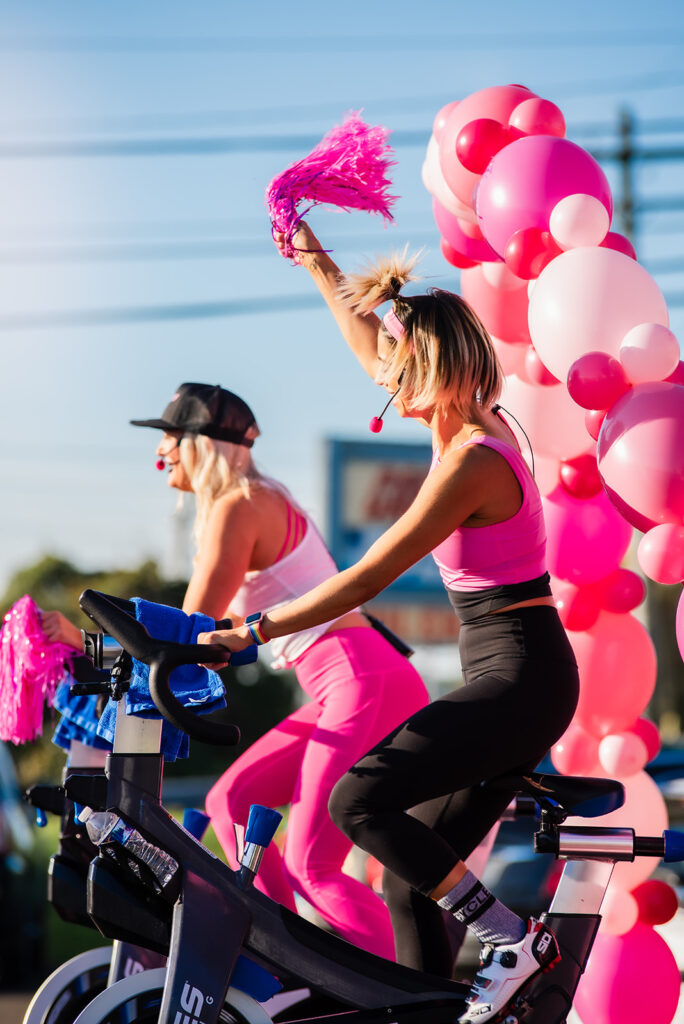RIDE Pink Outdoor Spin